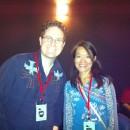 Rob Kohr and Chisa Hidaka who won Best Short for Dolphin Dance